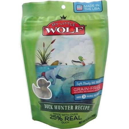 My Little Wolf Grain Free Duck Hunter Recipe Dog Treats