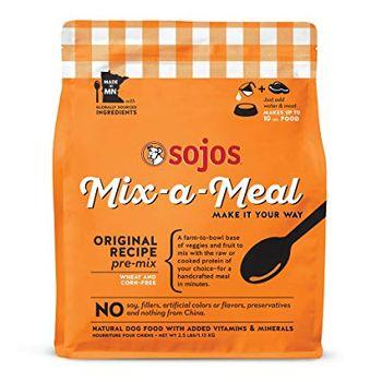 Sojos Dog Food Mix-a-Meal Original Pre-Mix, 40-lbs