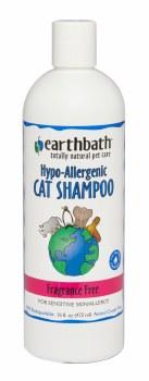 Earthbath Hypo-Allergenic Cat Shampoo Fragrance Free