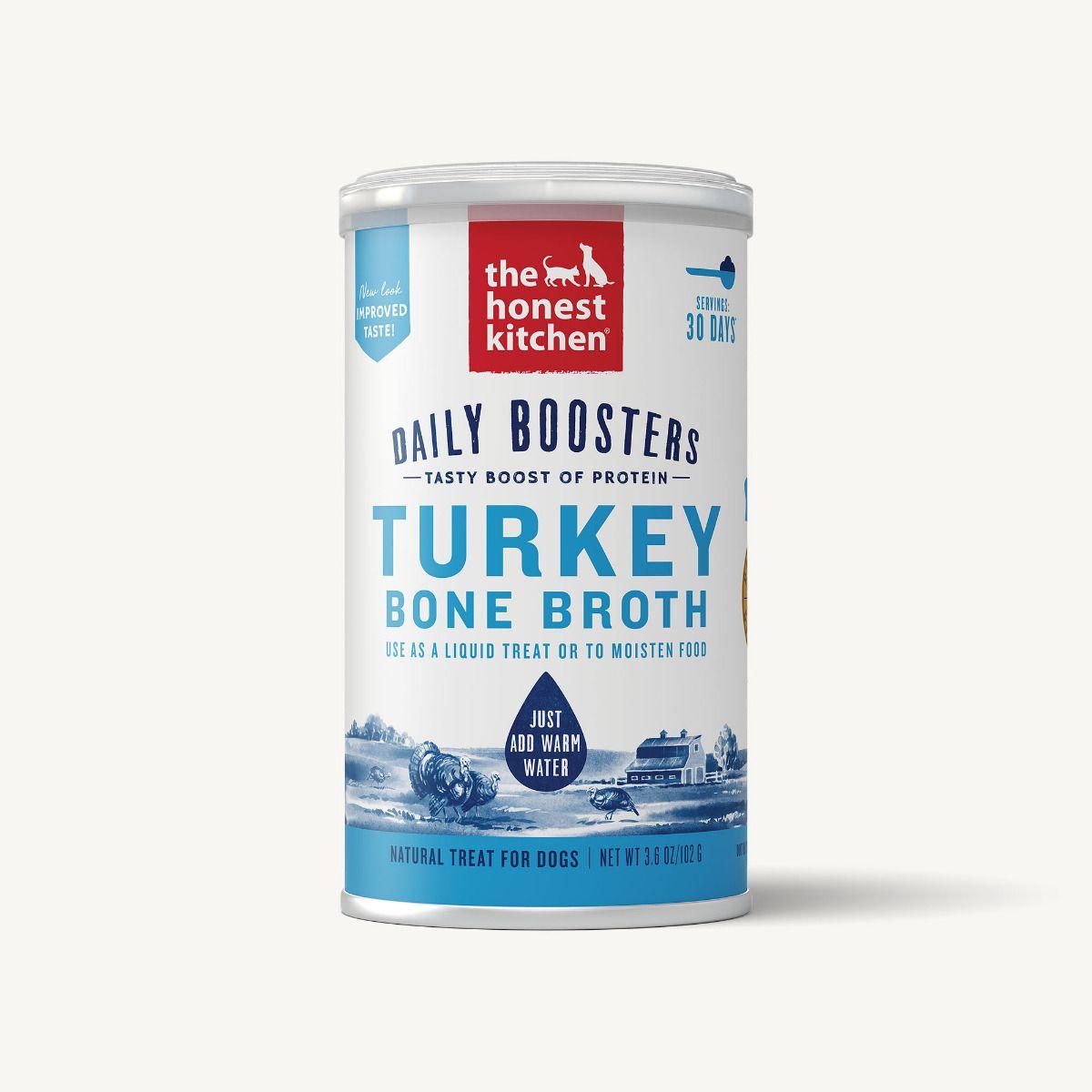 The Honest Kitchen Instant Bone Broth Turkey & Turmeric