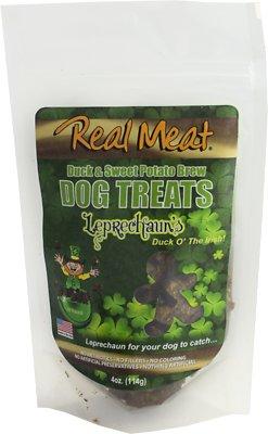 The Real Meat Company Duck & Sweet Potato Brew Leprechaun's Dog Treats