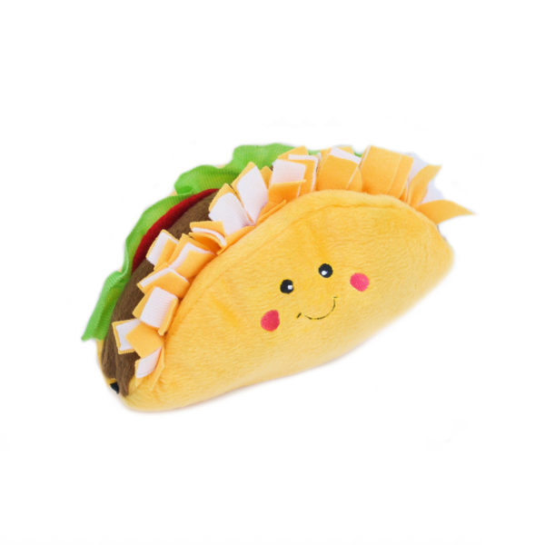 ZippyPaws NomNomz Taco Dog Toy