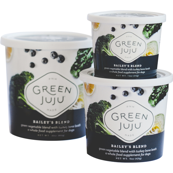 Green Juju Bailey's Blend Supplement for Dogs & Cats