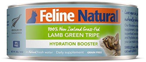 Feline Natural Lamb & Green Tripe Grain Free Canned Cat Food, 3-oz