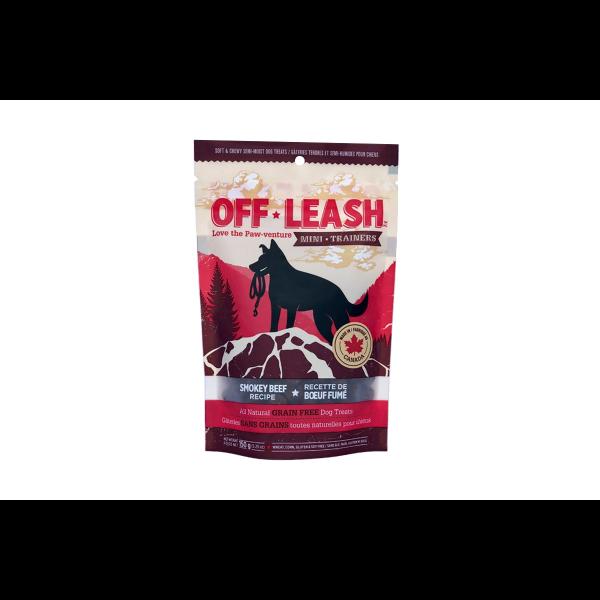 Off Leash GF Mini Trainers Smokey Beef Dog Treat