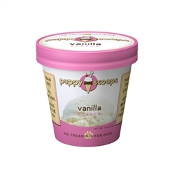 Puppy Cake Puppy Scoops Ice Cream Mix Vanilla Dog Treat