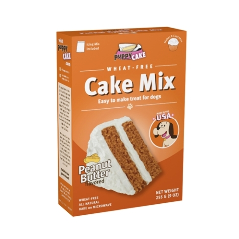 Puppy Cake Mix - Peanut Butter (wheat-free) Dog Treat