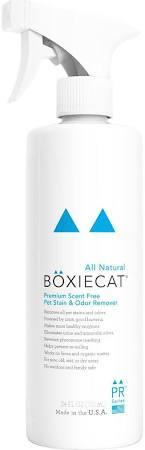 Boxiecat Cat Premium Scent-free Pet Stain & Odor Remover