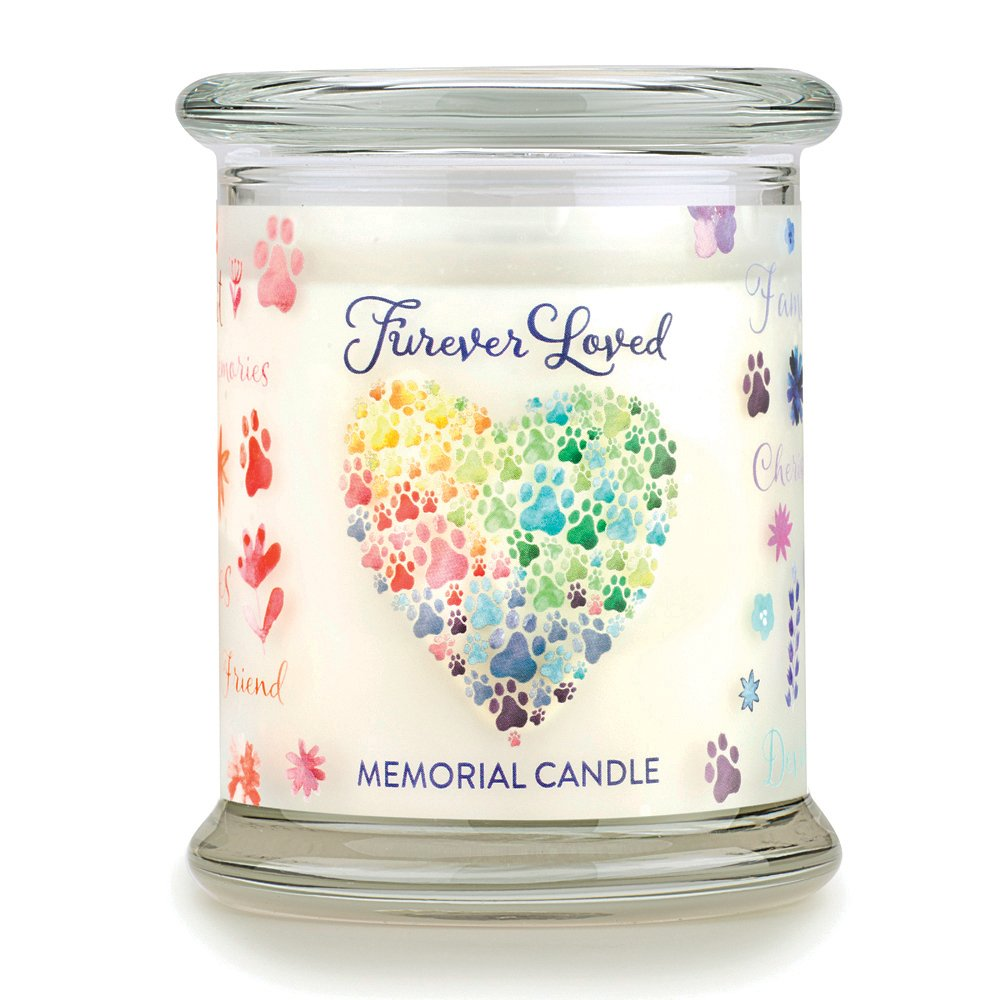One Fur All Pet House Candle - FUREVER LOVED PET MEMORIAl