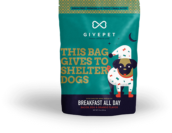 GivePet Breakfast All Day Dog Treat