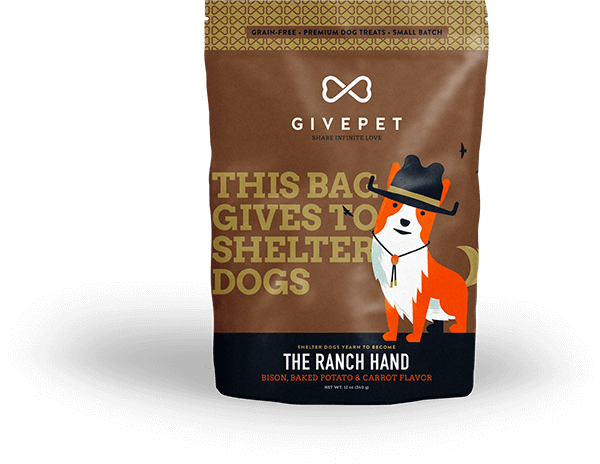 GivePet The Ranch Hand Dog Treat