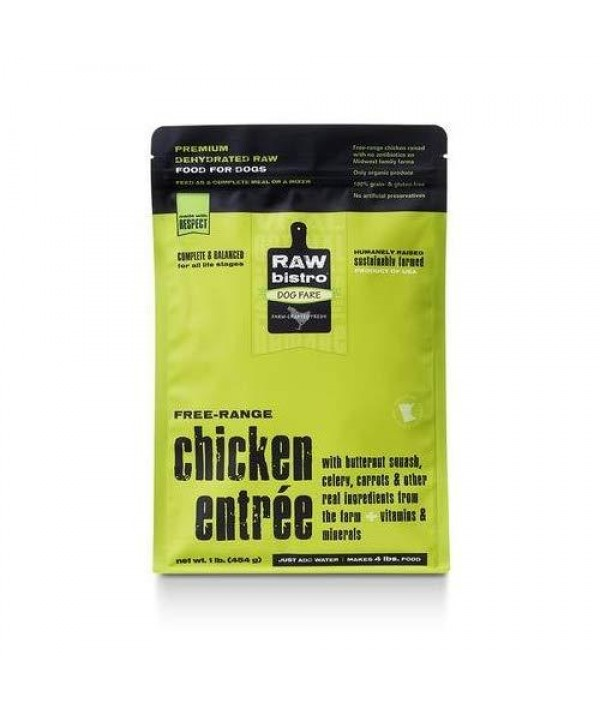 Raw Bistro Dehydrated Raw Premium Chicken Entrée Food for Dogs