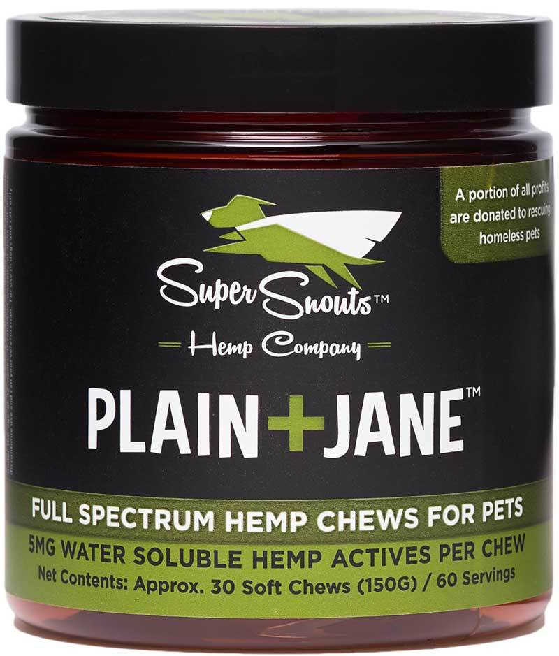 Super Snouts PLAIN+JANE Soft Chews Pet Supplement, 30-count