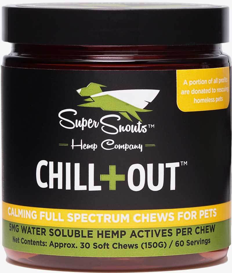 Super Snouts CHILL+OUT Calming Full Spectrum Soft Chews