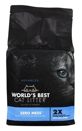 World's Best Zero Mess Advanced Cat Litter, 6-lb