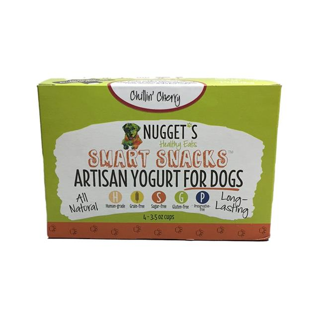Nugget's Healthy Eats Chillin' Cherry Frozen Yogurt for Dogs
