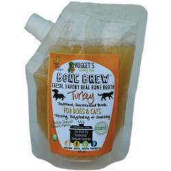 Nugget's Healthy Eats Turkey Bone Brew for Cats and Dogs, 20-oz