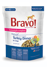 Bravo Homestyle Complete Natural Turkey Dinner For Dog