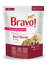 Bravo Homestyle Complete Natural Beef Dinner For Dog