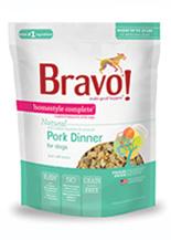 Bravo Homestyle Complete Natural Pork Dinner For Dog
