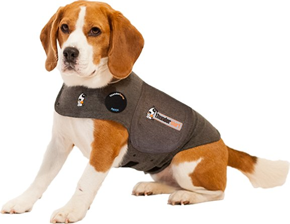 ThunderShirt Anxiety & Calming Solution for Dogs, Heather Grey Image