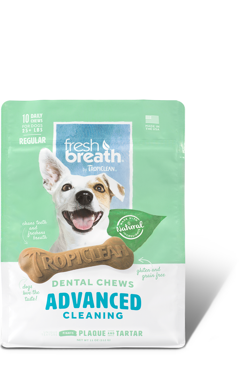 TropiClean Advanced Regular Cleaning Dental Dog Chew