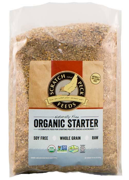 Scratch & Peck Naturally Free Organic Chicken Starter
