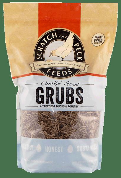 Scratch & Peck Cluckin' Good Grubs Duck & Chicken Treats, 20-oz