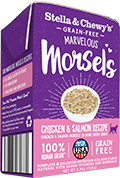 Stella & Chewy's Marvelous Morsels Chicken & Salmon Medley Wet Cat Food , 5.5-oz