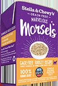 Stella & Chewy's Marvelous Morsels Turkey Recipe Wet Cat Food , 5.5-oz