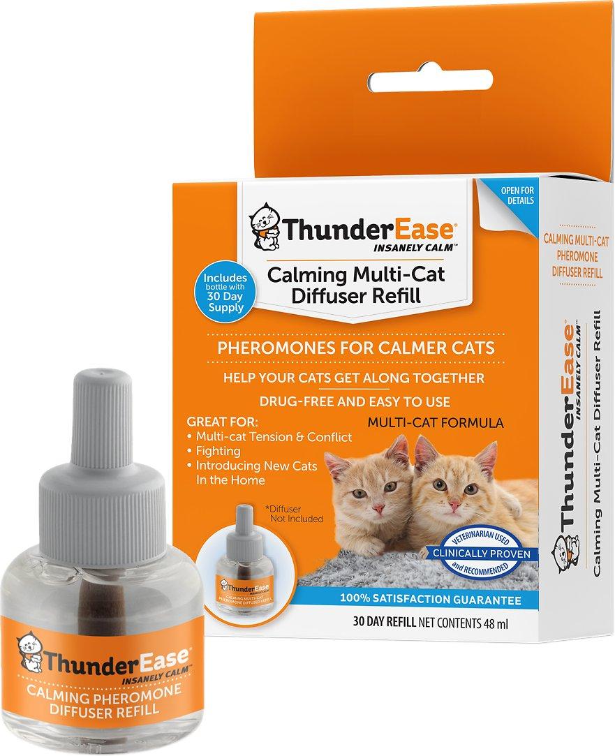 ThunderEase Multi-Cat Calming Diffuser Refill