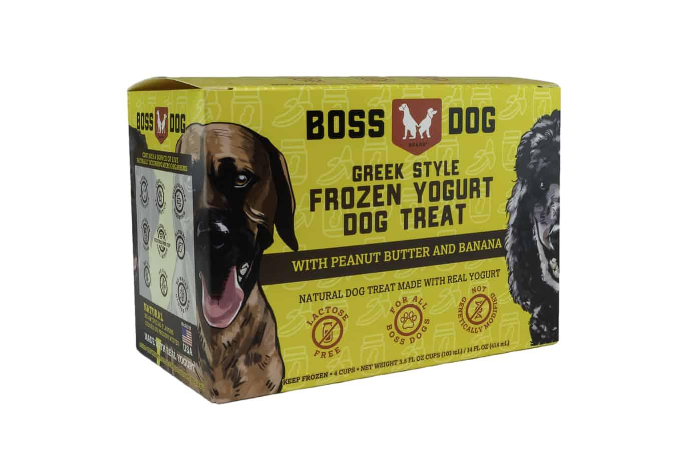 Boss Dog PB & Banana Frozen Yogurt Dog Treat