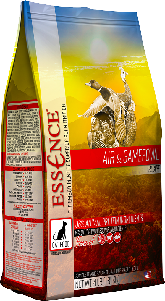 Essence GF Air & Gamefowl Dry Cat Food, 4-lb