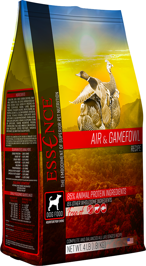 Essence GF Air & Gamefowl Dry Dog Food, 25-lb