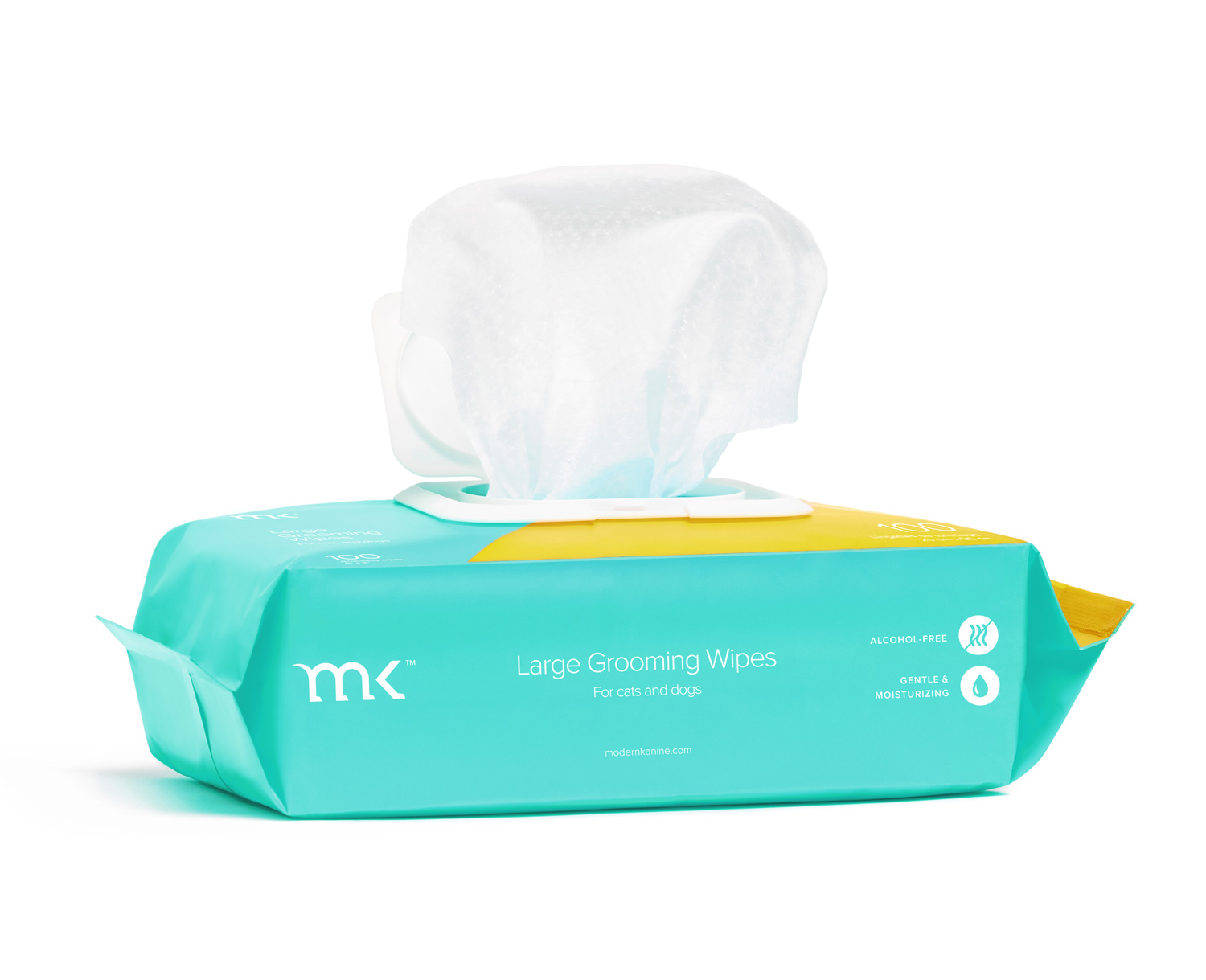 Modern Kanine Mango Large Grooming Wipes