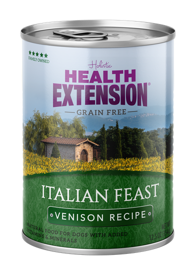 Health Extension Grain Free Italian Feast Venison Dog Wet Food