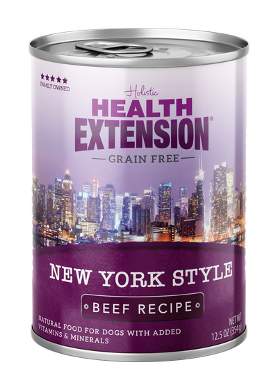 Health Extension Grain Free New York Style Beef Dog Wet Food