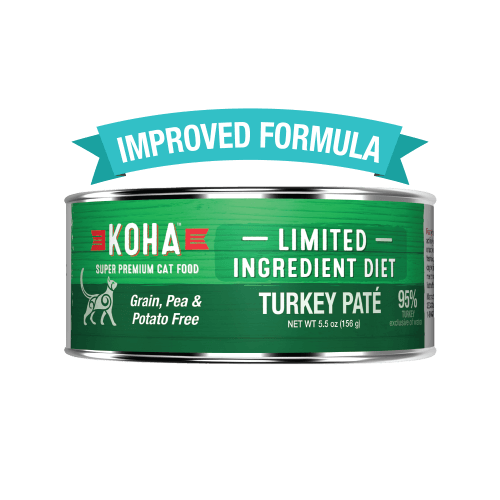 Koha Limited Ingredient Grain Free Turkey Pate Cat Wet Food