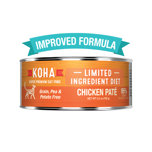 Koha Limited Ingredient Grain Free Chicken Pate Cat Wet Food