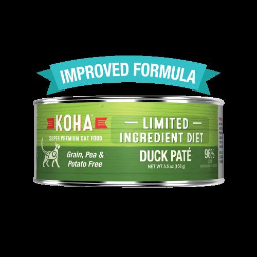 Koha Limited Ingredient Grain Free Duck Pate Cat Wet Food