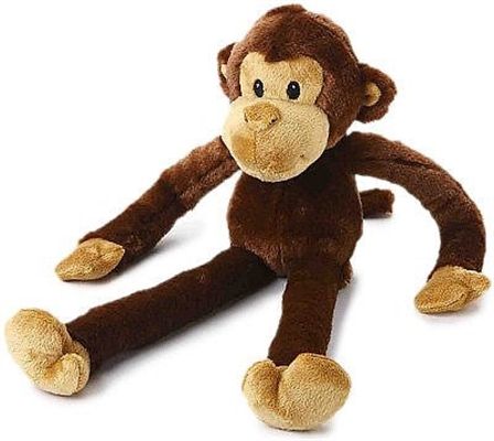 Multipet Swingin Monkey Dog Toy, 22-in