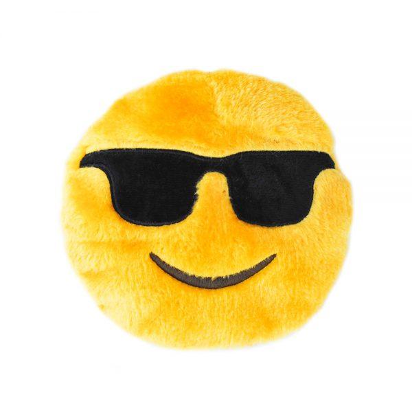 ZippyPaws Cool Dude Emojiz Dog Toy