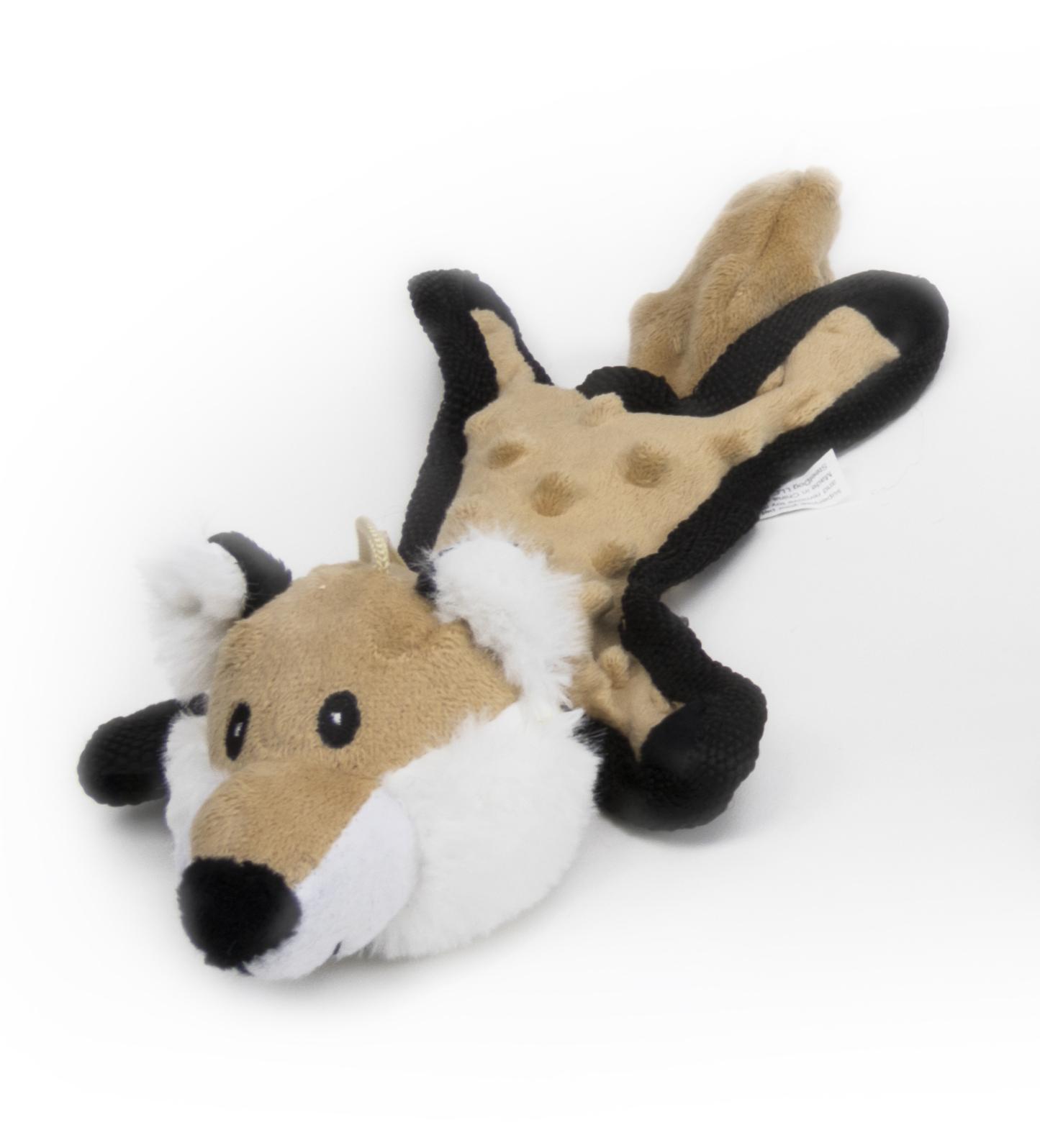 Steel Dog Baby Fox Dog Toy