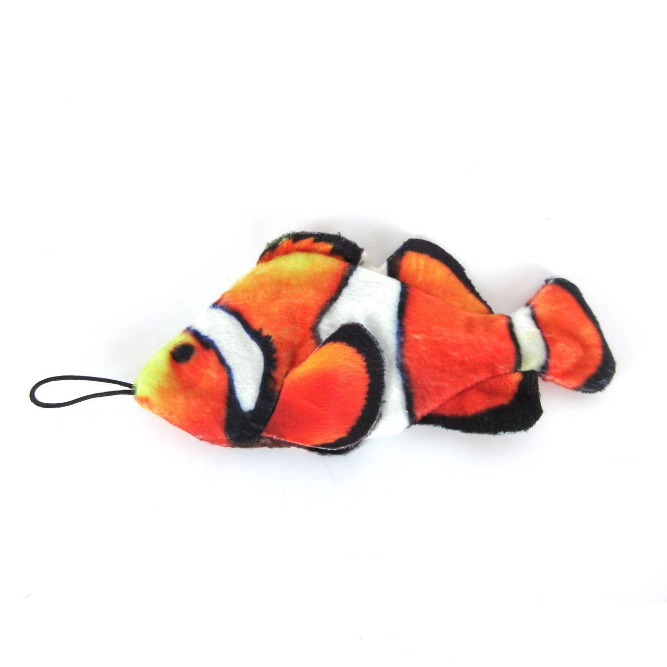 Steel Dog Clown Fish Dog Toy