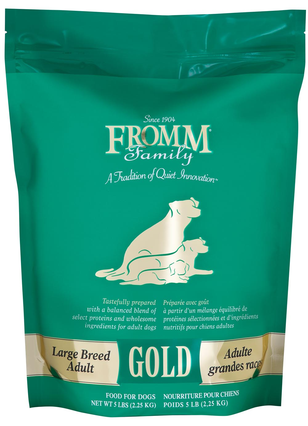 Fromm Gold Large Breed Adult Formula Dry Dog Food, 5-lb