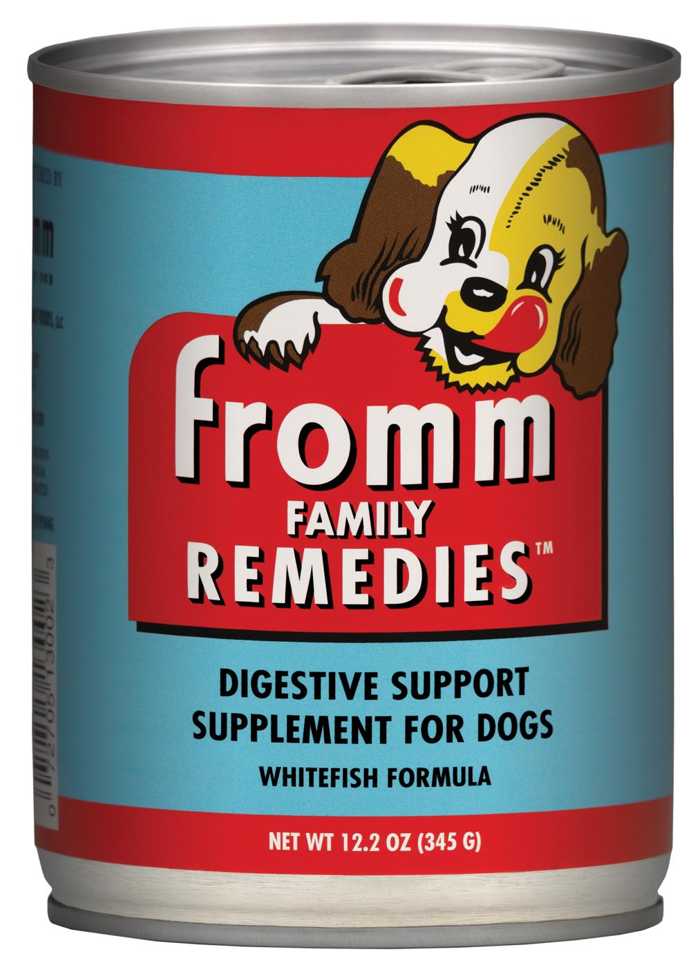 Fromm Family Remedies Whitefish Recipe Digestive Support Canned Dog Food, 12.2-oz