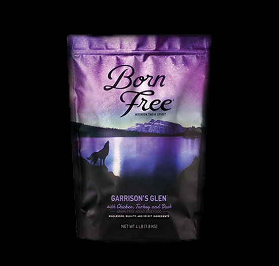 Born Free Garrison's Glen Dog Dry Food, 4-lb