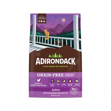 Adirondack Indoor Chicken & Chicken Meal Dry Cat Recipe