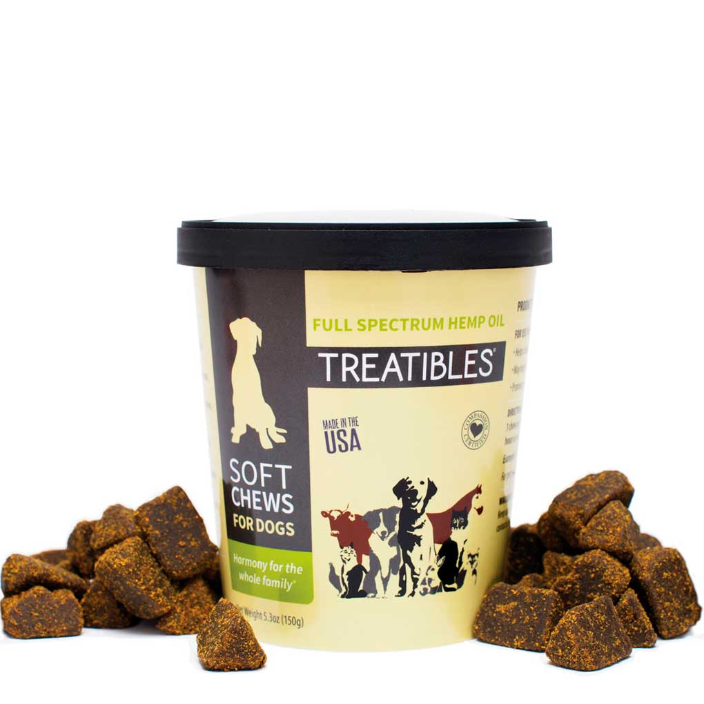Treatibles Soft Chews for Dogs -3mg