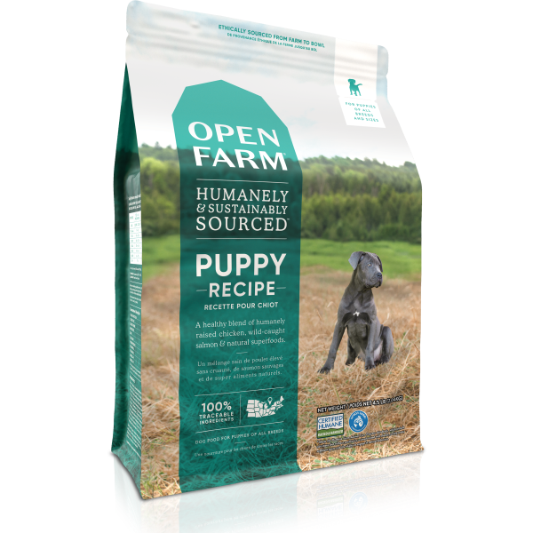 Open Farm Puppy Chicken & Salmon Grain Free Dry Dog Food